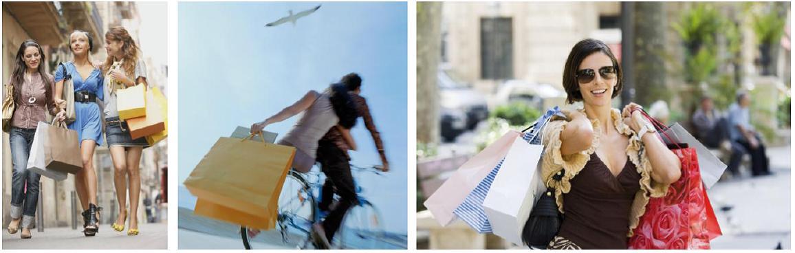 En 2011 el 35% de las bolsas del comercio en España  ya son de papel
