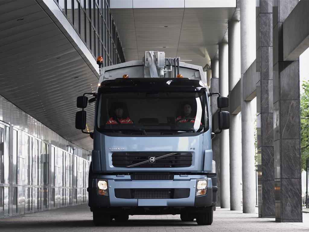 Volvo Trucks pinta su futuro en verde