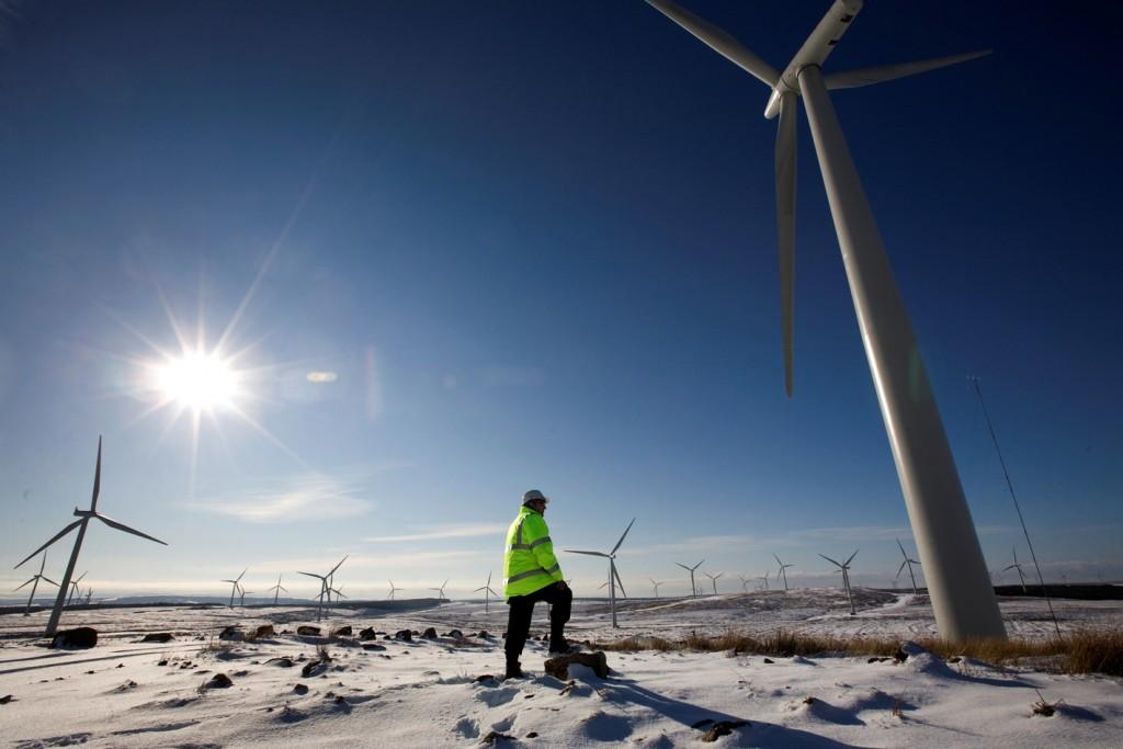 El negocio renovable ayuda a Iberdrola