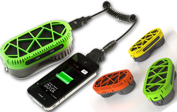 Cargar la batería del móvil con agua