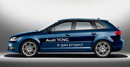 Audi producirá coches impulsados por metano en 2013