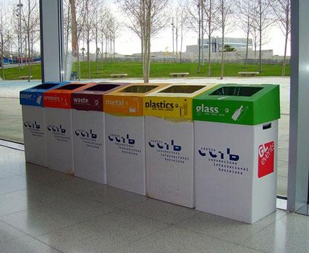 El CCIB refuerza su compromiso ambiental con el reciclaje de moqueta ferial