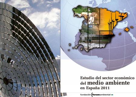 El sector ambiental genera un 3.6% del PIB español