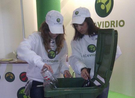 Ecovidrio recicló 65.700 envases de vidrio en Alimentaria 2012