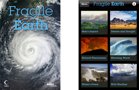 Una App que muestra el impacto del hombre en el Planeta
