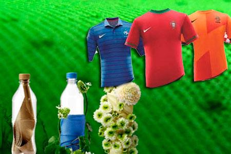 Camisetas recicladas para la Eurocopa 2012