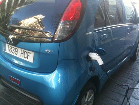 El 0,07 por ciento de los coches vendidos en Europa son eléctricos