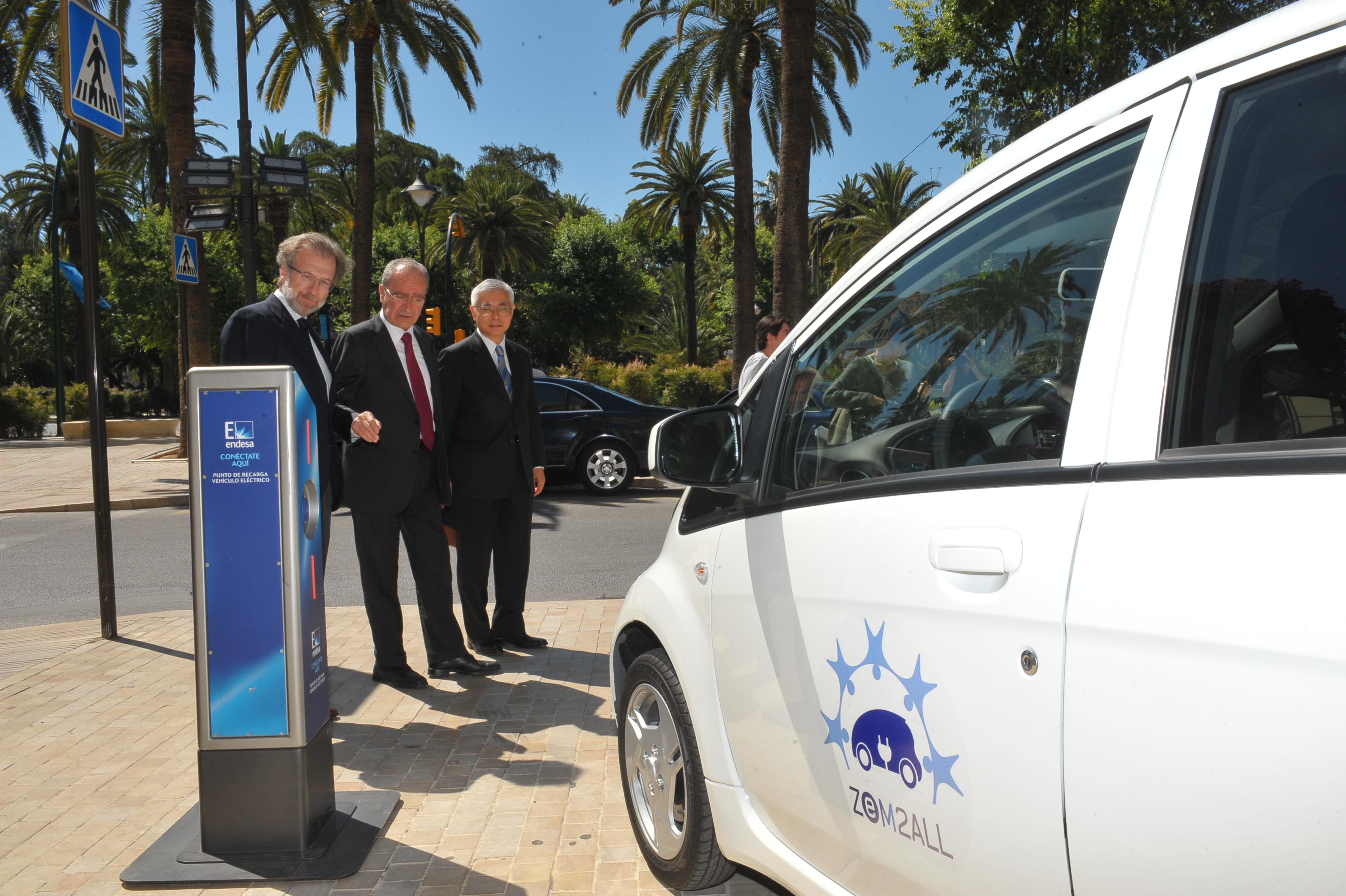 200 vehículos eléctricos desembarcarán en Málaga para evaluar su impacto