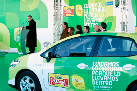 Los premios a la movilidad sostenible recaen en Leche Pascual, Ferrovial y Grupo Ruiz