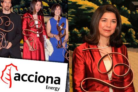 Acciona Energía recibe el reconocimiento por su estrategia de desarrollo sostenible