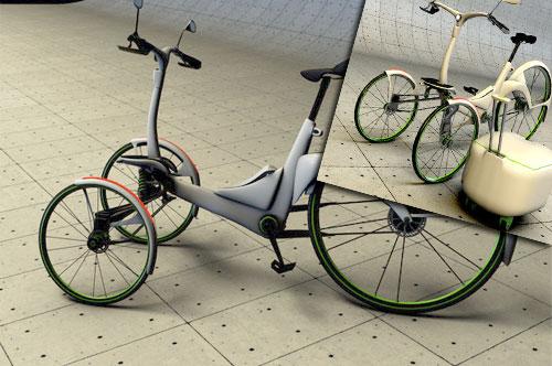 Kaylad 2.0, el triciclo eléctrico urbanita