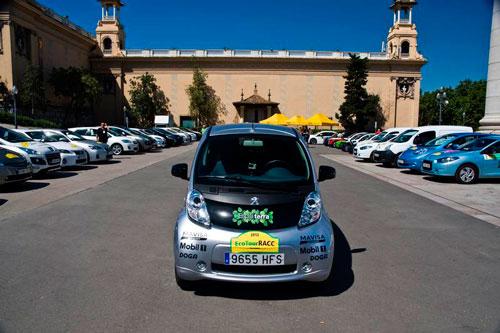 15 vehículos eléctricos disputan el primer rallye ecológico