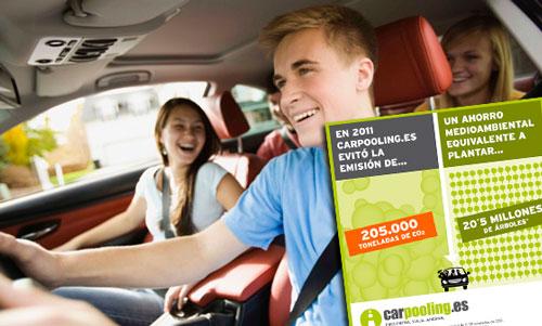 Carpooling alcanza los 30 millones de viajes en coche compartido