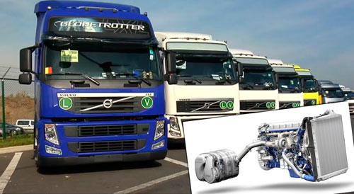 Volvo Trucks lanza un eficiente motor Euro 6