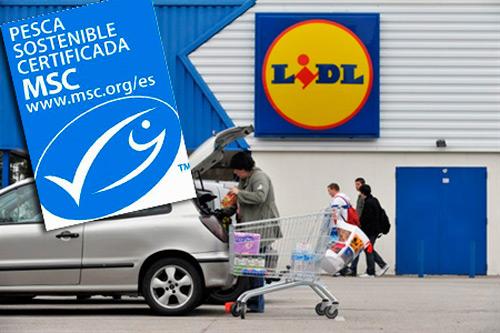 Lidl Holanda venderá pescado con la ecoetiqueta MSC