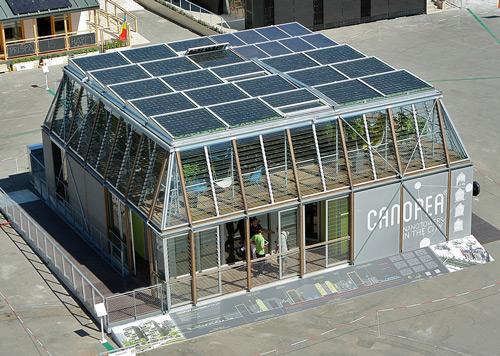 Canopea, se adjudica el premio de arquitectura de la SDE2012