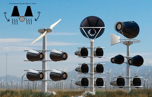 Obtener energía eólica sin dañar a las aves