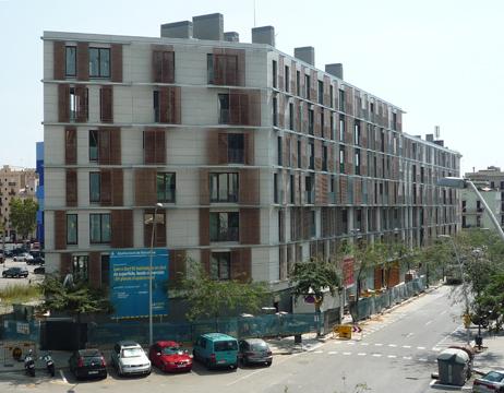 La promoción inmobiliaria más sostenible se encuentra en Barcelona