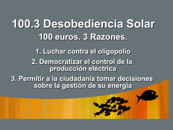Desobediencia solar: tejados fotovoltaicos compartidos entre la ciudadanía