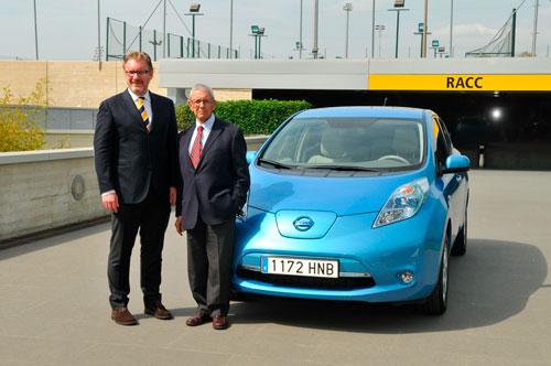 El presidente del RACC se vuelve eléctrico gracias a Nissan