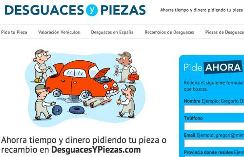 """Desguaces """"online"""" para alargar la vida de tu coche ahorrando hasta un 40%"""