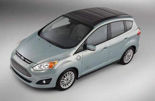 Ford presenta su coche solar