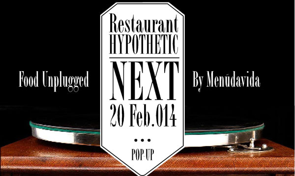 Vuelve el eco-evento de Hypothetic Pop-Up Restaurant
