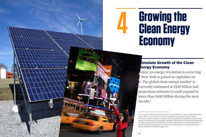 Nueva York presenta un ambicioso plan energético basado en las renovables