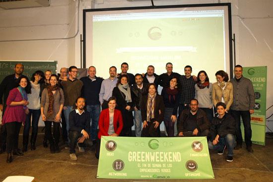 El primer Greenweekend Barcelona ya tiene proyectos ganadores