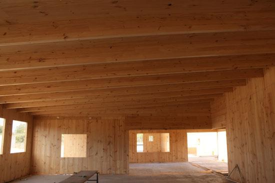 Una escuela de 3.500 metros cuadrados… de madera