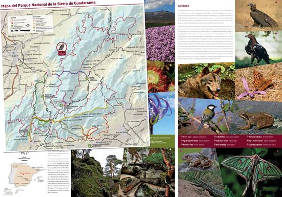 Plano y guía para no perderse nada en el Parque Nacional de la Sierra de Guadarrama