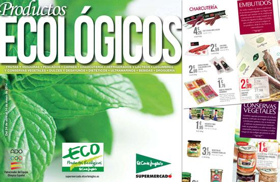 El Corte Inglés lanza su catálogo de productos ecológicos