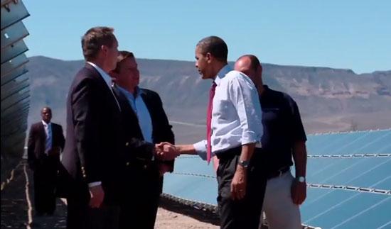 El poder solar se instala en la azotea de la Casa Blanca