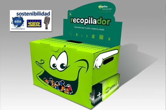 Recopilar pilas usadas, un gesto a favor del medioambiente