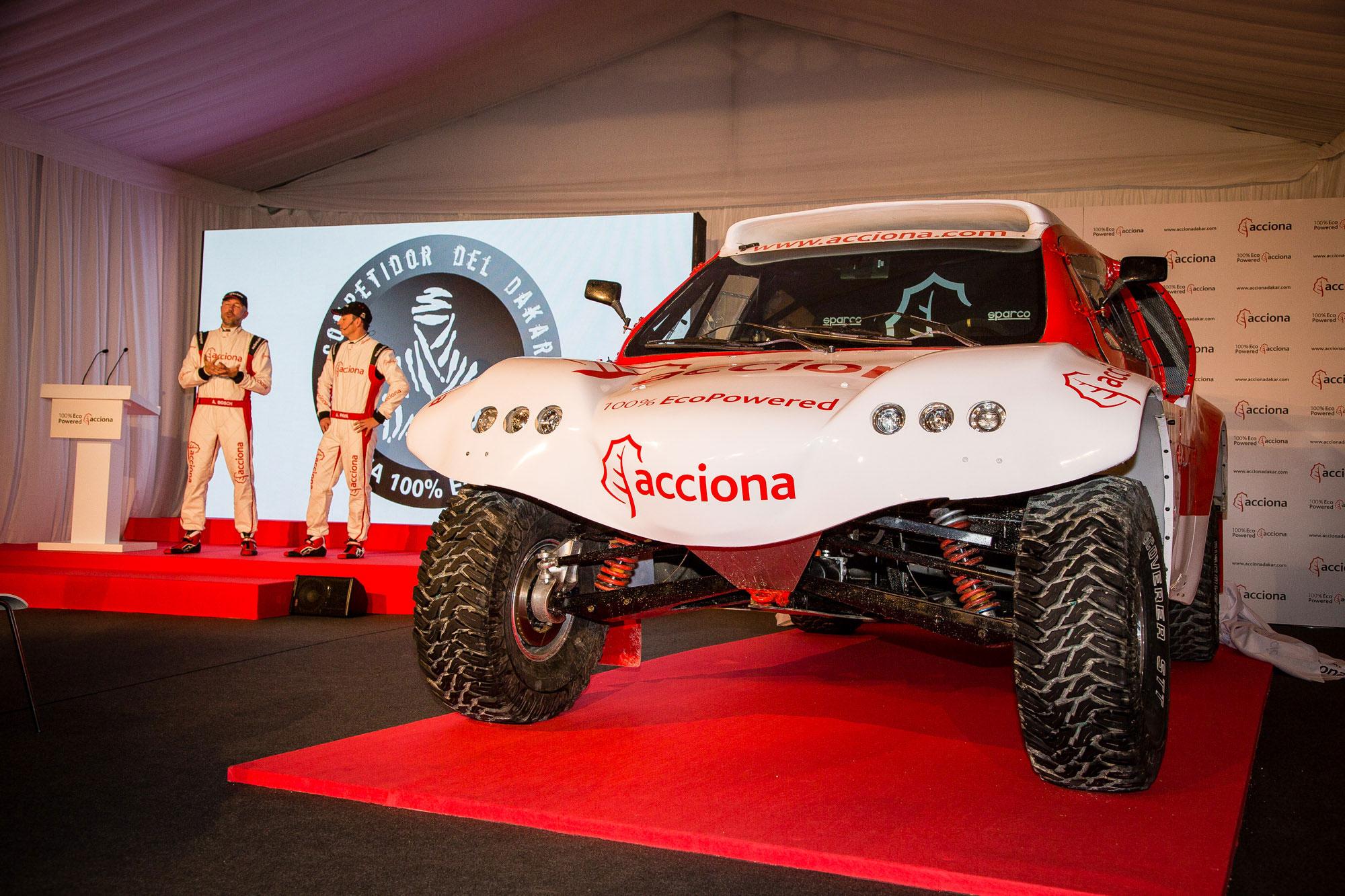 Acciona se apunta al desafío del Rally Dakar con un coche eléctrico