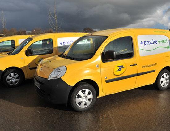 Renault practica la movilidad eléctrica con los carteros franceses