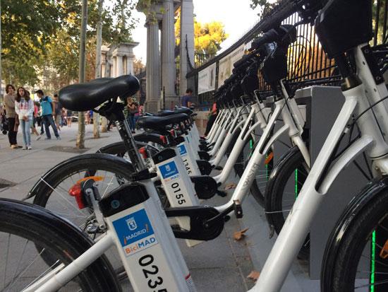 BiciMAD y el auge de la bicicleta en Madrid