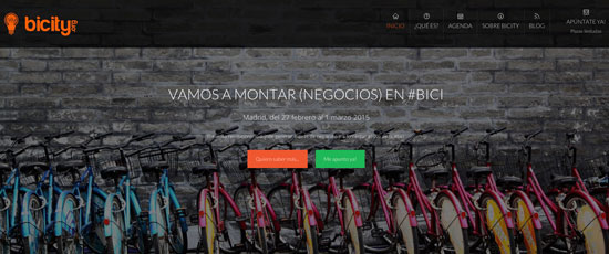 Bicity, emprendimiento sobre ruedas