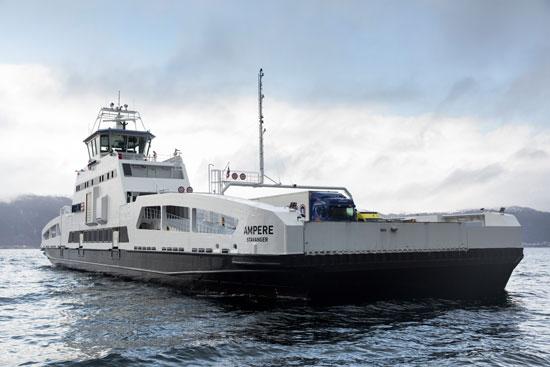 El primer ferry eléctrico del mundo ya está operativo en Noruega