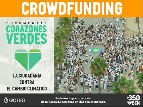 """""""Corazones Verdes"""" para luchar contra el cambio climático"""