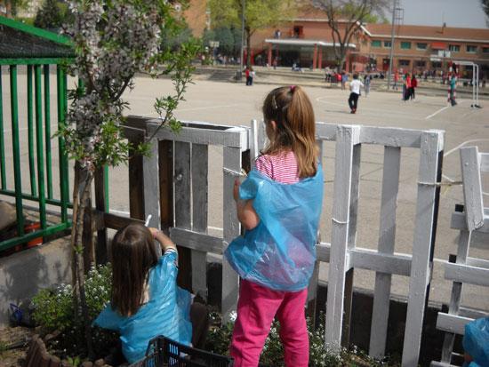 El huerto escolar, sembrando educación