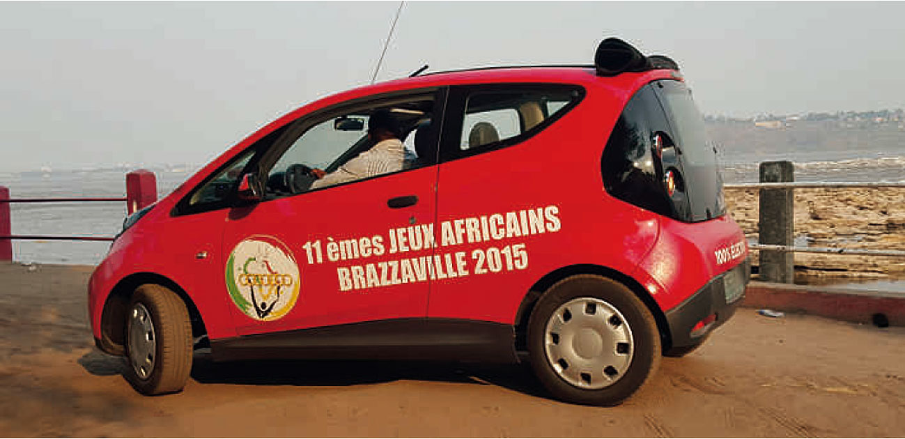 Juegos Africanos con vehículos eléctricos