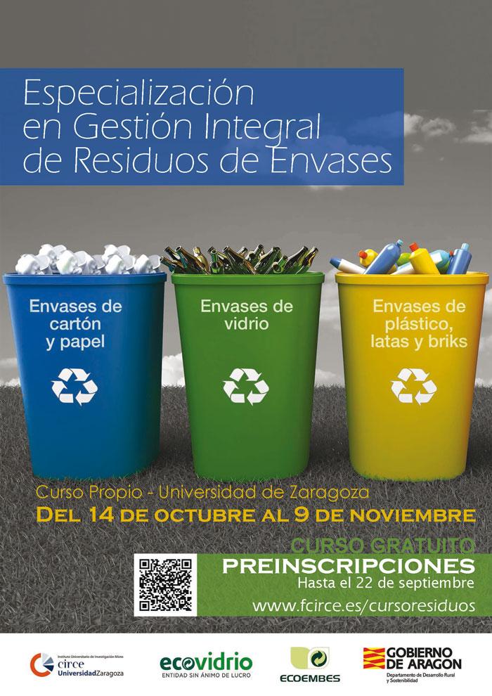 Curso integral gratuito sobre gestión de residuos