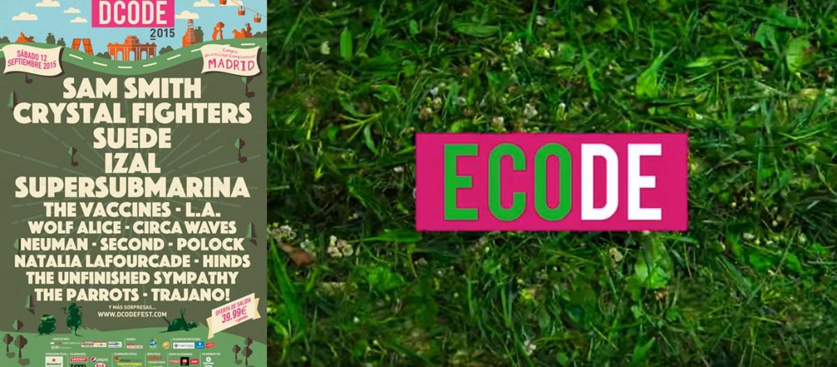 ECODE asegura la sostenibilidad del festival DCODE 2015