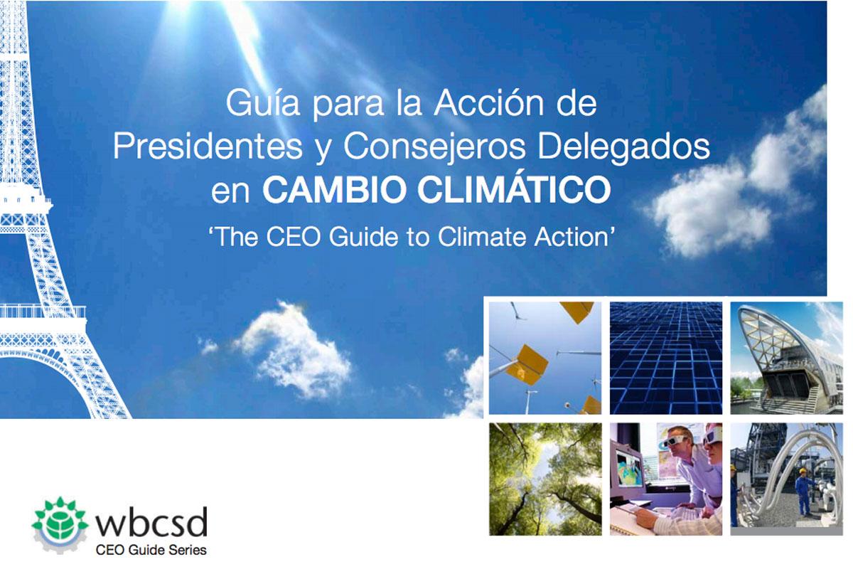 Guía empresarial para luchar contra el cambio climático