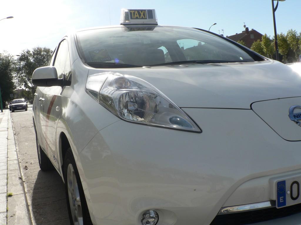 Taxi eléctrico Madrid El-mundo ecologico