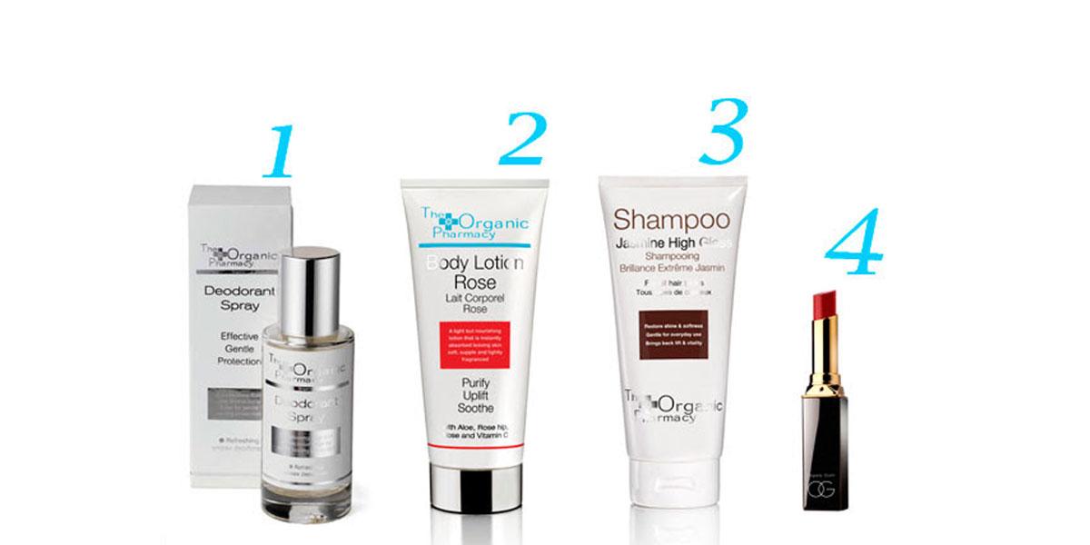 4 alternativas orgánicas para 4 básicos de higiene