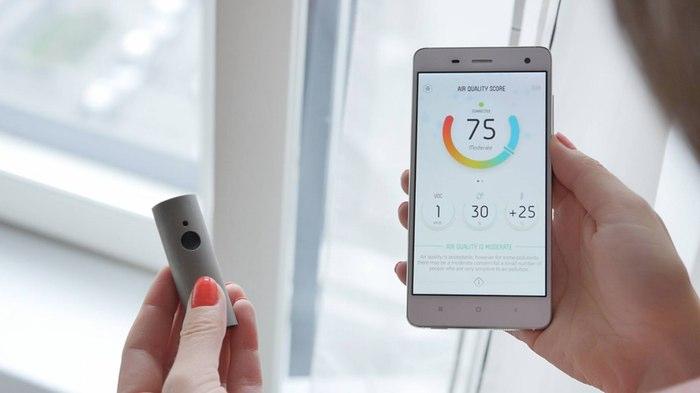 Gadgets personales para medir la contaminación urbana