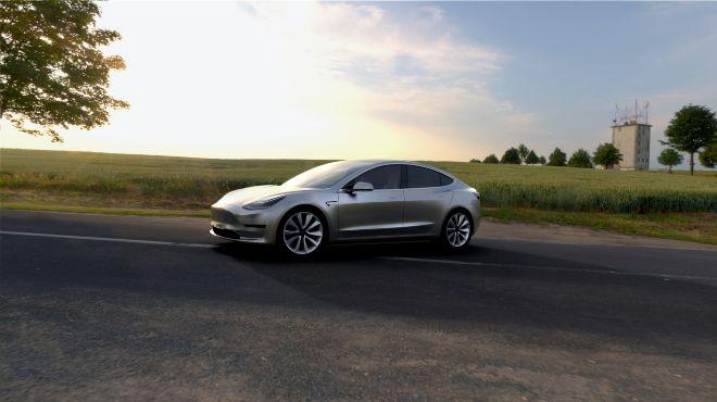 Tesla anuncia un eléctrico de gama media para 2017