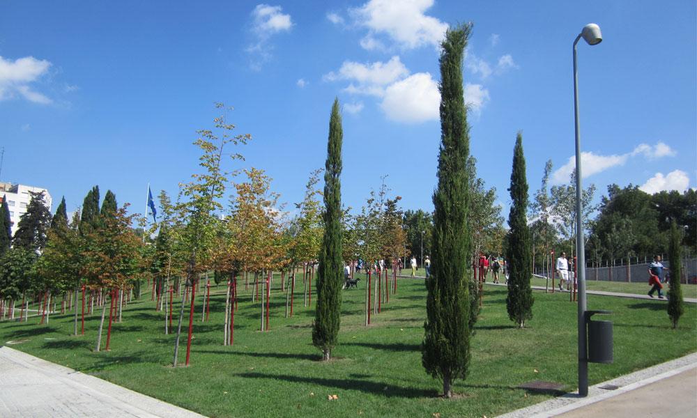jardines municipales ecológicos